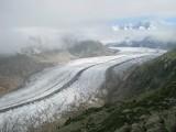 Aletsch gletscher- ľadovec
