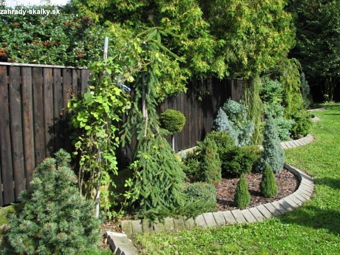 Záhrada p. Zouharovej