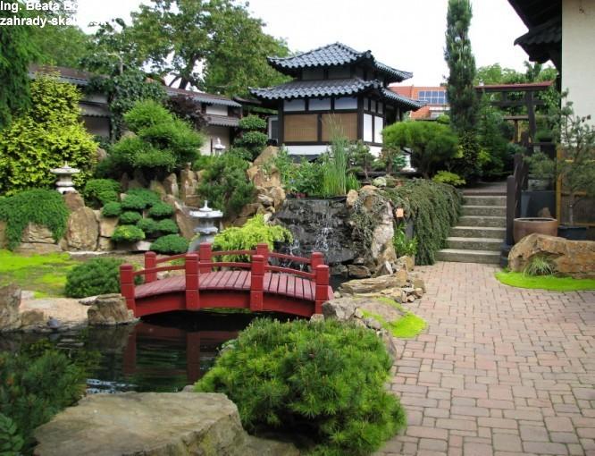p.Hron Japonská záhrada
